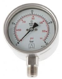 (014) 63mm, 100mm & 160mm Full Safety Pressure Gauge