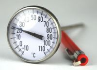 (1) 100mm HVAC Pressure Gauge