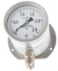 (030) 100mm Differential Pressure Gauge