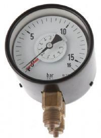 (035) 100mm Opposing Bourdon Tube Differential Pressure Gauge