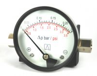 (032) 80mm & 100mm OEM Differential Pressure Gauge