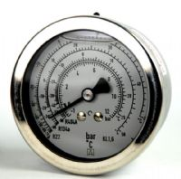 (017) Refrigeration Standard & Differential Pressure Gauge