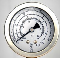 (037) Refrigeration Industry Differential Pressure Gauge