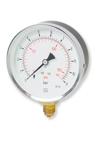 (001) 100mm & 160mm  HVAC Pressure Gauge