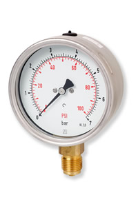 (009) 100mm & 160mm HD Series Pressure Gauge