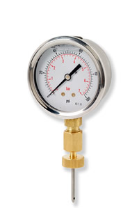 (006) Binder Style Test Point Pressure Gauge