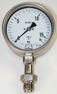 (015A) Piston Type Diaphragm Seal Gauge