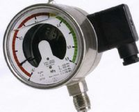 (020) SF6 Gas Density Pressure Gauge