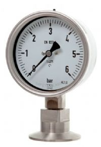 (017) 100mm & 160mm Diameter Hygienic Seal Pressure Gauges
