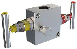 2-Valve Manifold Remote Mount - Model AIJ2 (F/F) & AIL2 (M/F) Generation 200 Series