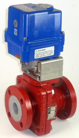 Actuated Butterfly Valve - Lugged & Flanged