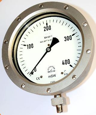 Subsea Pressure Gauge - 160mm Premium Subsea 450m Gauge