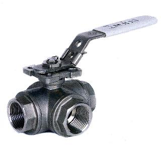 3-Way Stainless Steel Ball Valve