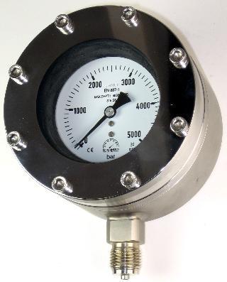 Subsea Pressure Gauge - 100mm Premium Subsea 4000m