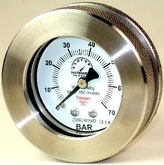 Subsea Pressure Gauge  - 63mm Diameter 450m Gauge