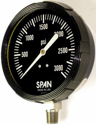 SPAN SUB LFS Subsea Gauge - 2.5