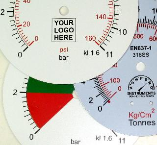 Your Company Name or Logo Printed On DIal
