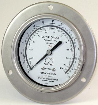 100mm Pneumo Depth Gauge - Standard