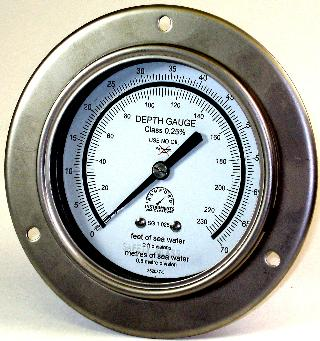 100mm Pneumo Depth Gauge -  Premium