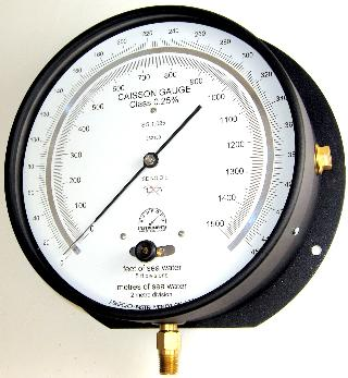 Caisson Gauge - 200mm Premium Design